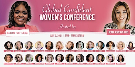 The Global Confident Women's Conference tickets