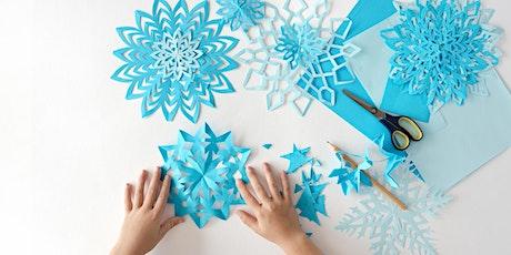 Snowflake Glitter Craft tickets