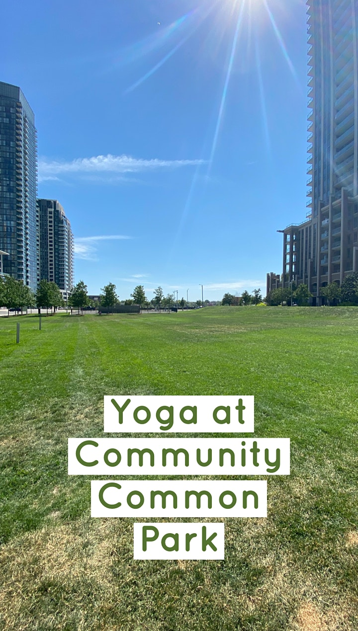 Evening Yoga at Community Common Park (In-Person Class) image