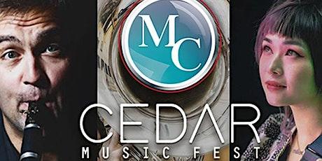 CEDAR MUSIC FEST 2021 Concierto en Bogotá lunes19 de julio 2021. entradas