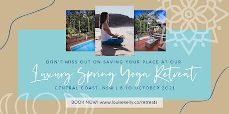 Luxury Spring Yoga Retreat tickets