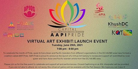 AAPI Pride Virtual Art Exhibit: Launch Event tickets