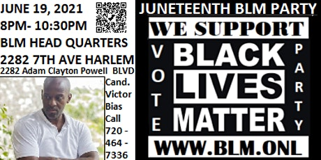 Juneteenth BLM Party tickets