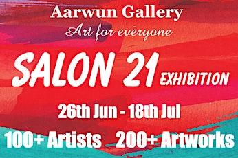 Aarwun Salon 21 Exhibition Opening tickets