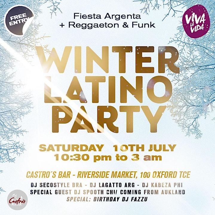 Winter Latino Party image