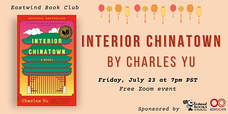 Eastwind Book Club: Interior Chinatown tickets