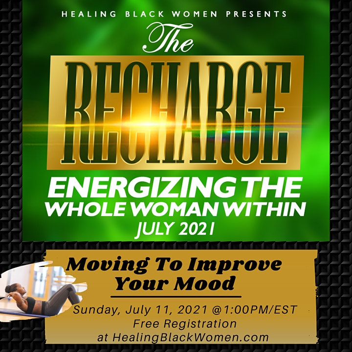 THE RECHARGE: Virtual Women's Conference image