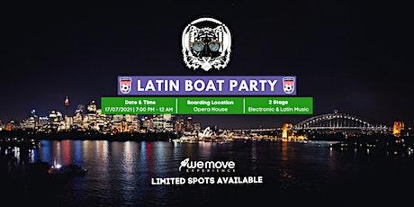 Latin Boat Party tickets