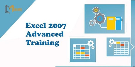 Excel 2007 Advanced 1 Day Virtual Live Training in Bournemouth tickets