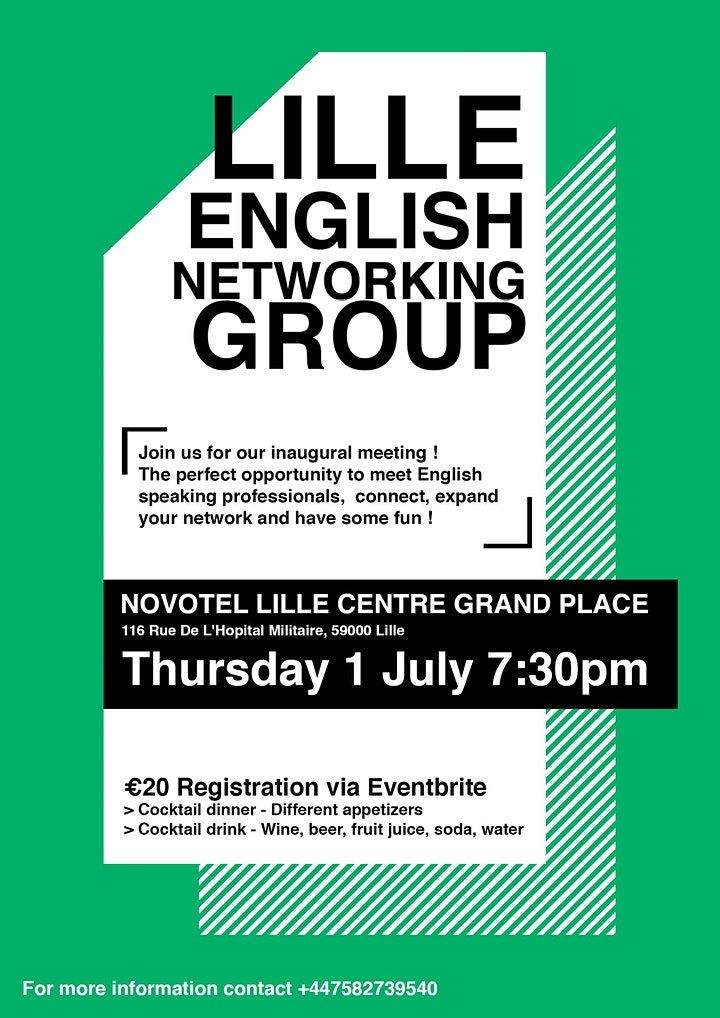 Lille English Networking Group image