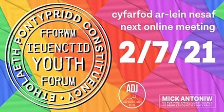 Pontypridd Constituency Youth Forum - Young People's Mental Health tickets