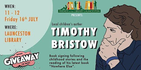 Live at the Library - Tim Bristow @ Launceston Library tickets