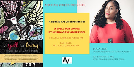 African Voices Presents  A Book & Art Celebration for A Spell for Living tickets