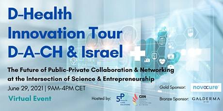D-Health Virtual Innovation Tour D-A-CH & Israel Tickets