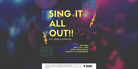 SING IT ALL OUT!! (Karaoke Event) tickets