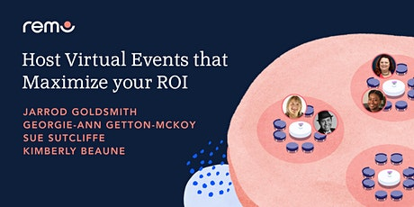 Host Virtual Events that Maximize your ROI tickets