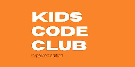 Kids Code Club at Bundaberg Library tickets