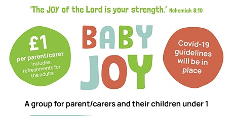 Baby Joy - a group for parents/carers and their children under 1 tickets