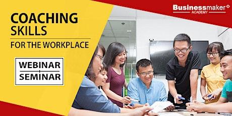 Live Webinar: Coaching Skills for the Workplace bilhetes