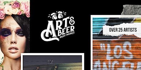 Art & Beer Night Market LA! tickets