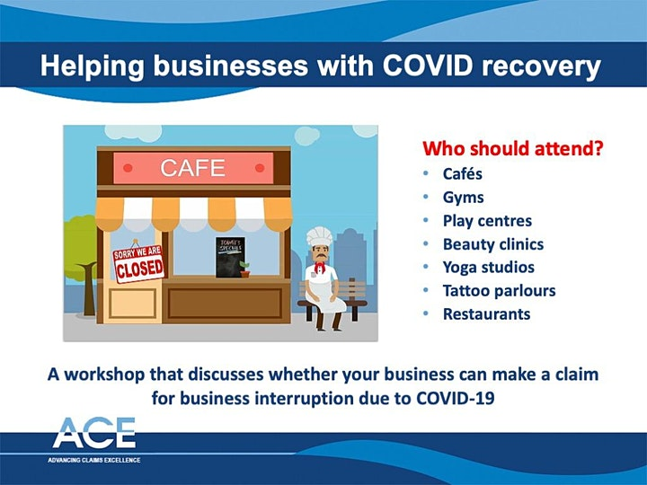 Business interruption due  to COVID19 image