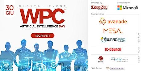 WPC DAY 2 - Artificial Intelligence Day biglietti