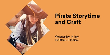 Pirate Storytime and Craft tickets