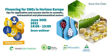 Financing for SMEs in Horizon Europe tickets