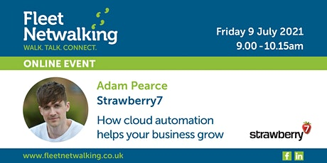 Fleet Netwalking Online Event: Grow your business with cloud automation. tickets