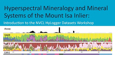 Hyperspectral Mineralogy and the Mineral Systems of the Mount Isa Inlier tickets