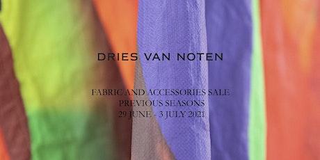 Sale Previous Seasons Fabrics & Accessories - Dries Van Noten tickets