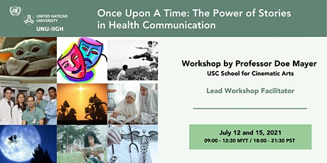 Once Upon A Time: The Power of Stories in Health Communication tickets