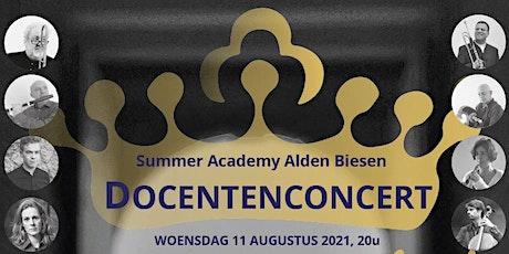 Docentenconcert International Summer Academy Alden Biesen billets