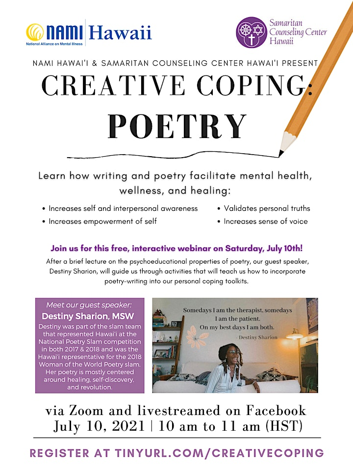 Creative Coping: Writing Poetry image