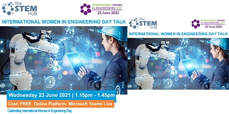 International Women in Engineering Day Talk: Suitable for Secondary Schools tickets