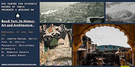 Bundi Fort: Its History, Art and Architecture tickets