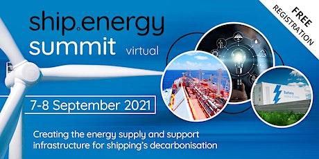 ship.energy summit  - Sept tickets