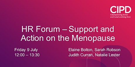 HR Forum – Support and Action on the Menopause tickets