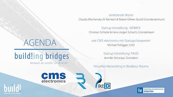 build!ing bridges - Vernetzung von Industrie und Startups: Bild