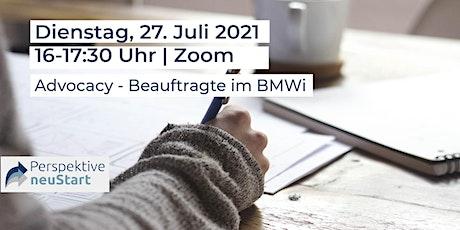 Advocacy - Beauftragte im BMWi Tickets