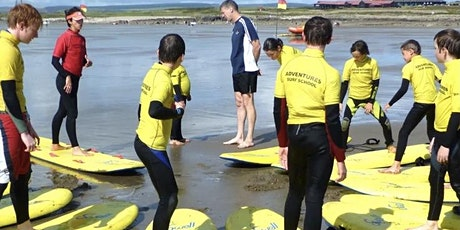 Summer Programme Adventure Wales Surfing Session tickets