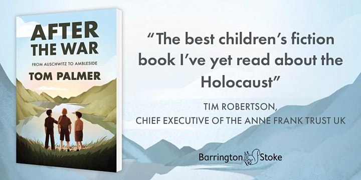 An online evening with author Tom Palmer discussing his book After the War. image