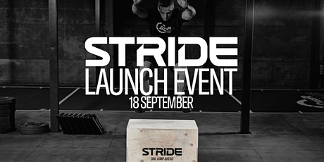 STRIDE Launch Event tickets