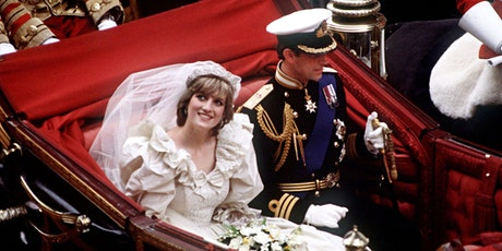 Lady Diana & Prince Charles 1981 Wedding - Livestream History Program tickets