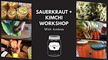 Andrea's Sauerkraut and Kimchi workshop tickets