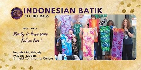 Indonesian Batik Workshop tickets