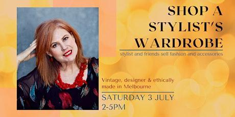 Stylist and friends' wardrobe sale tickets