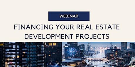 Financing your Real Estate Development Projects biglietti
