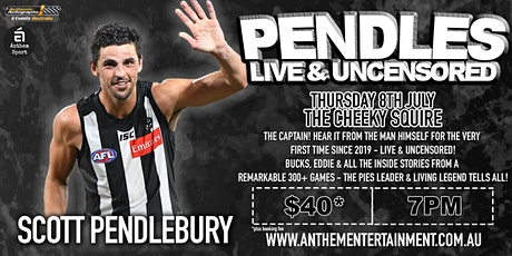 Scott Pendlebury LIVE at The Cheeky Squire , Frankston! tickets