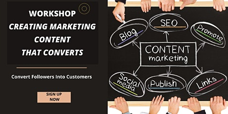 Creating Marketing Content that Converts tickets